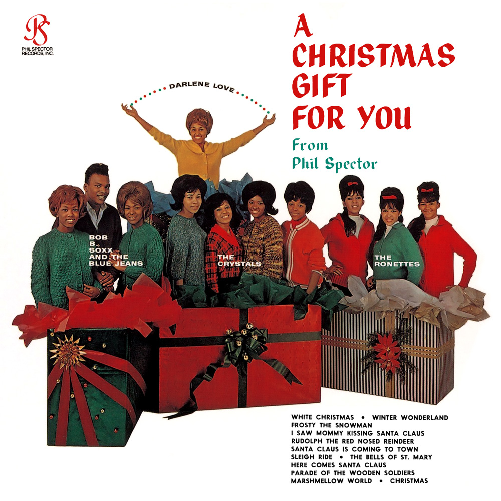 Bloody Christmas 1963.Album Review 37 A Christmas Gift For You By Phil Spector